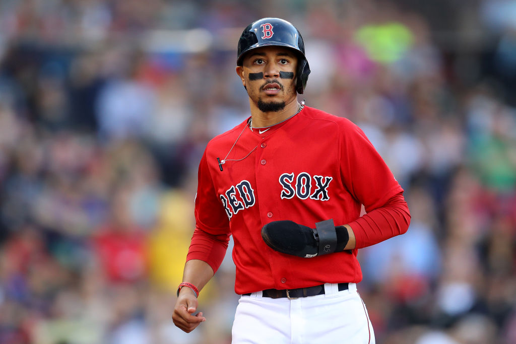 Mookie Betts traded from Red Sox