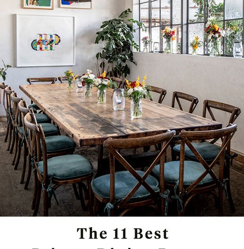 The 11 Best Private Dining Rooms In La Insidehook