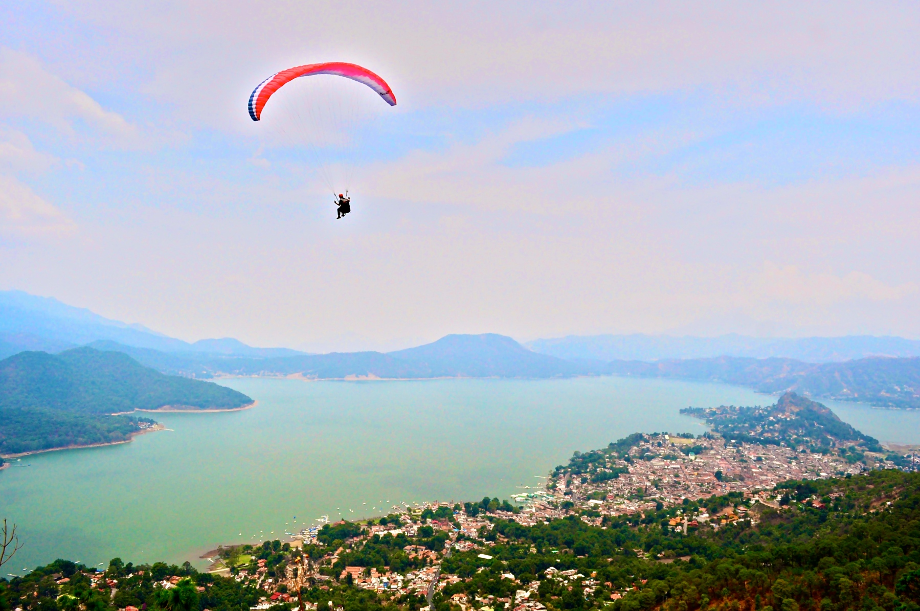 paragliding lago avandaro