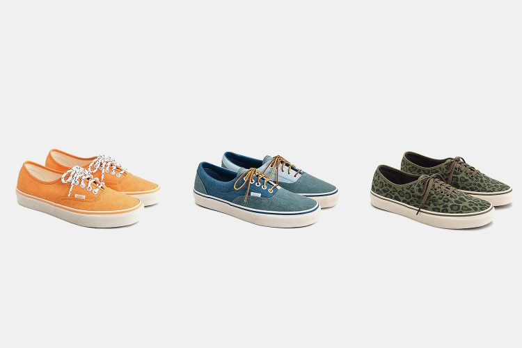 J.Crew Partnered With Vans for Five New Exclusive Styles