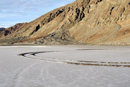 Auto damage in Death Valley