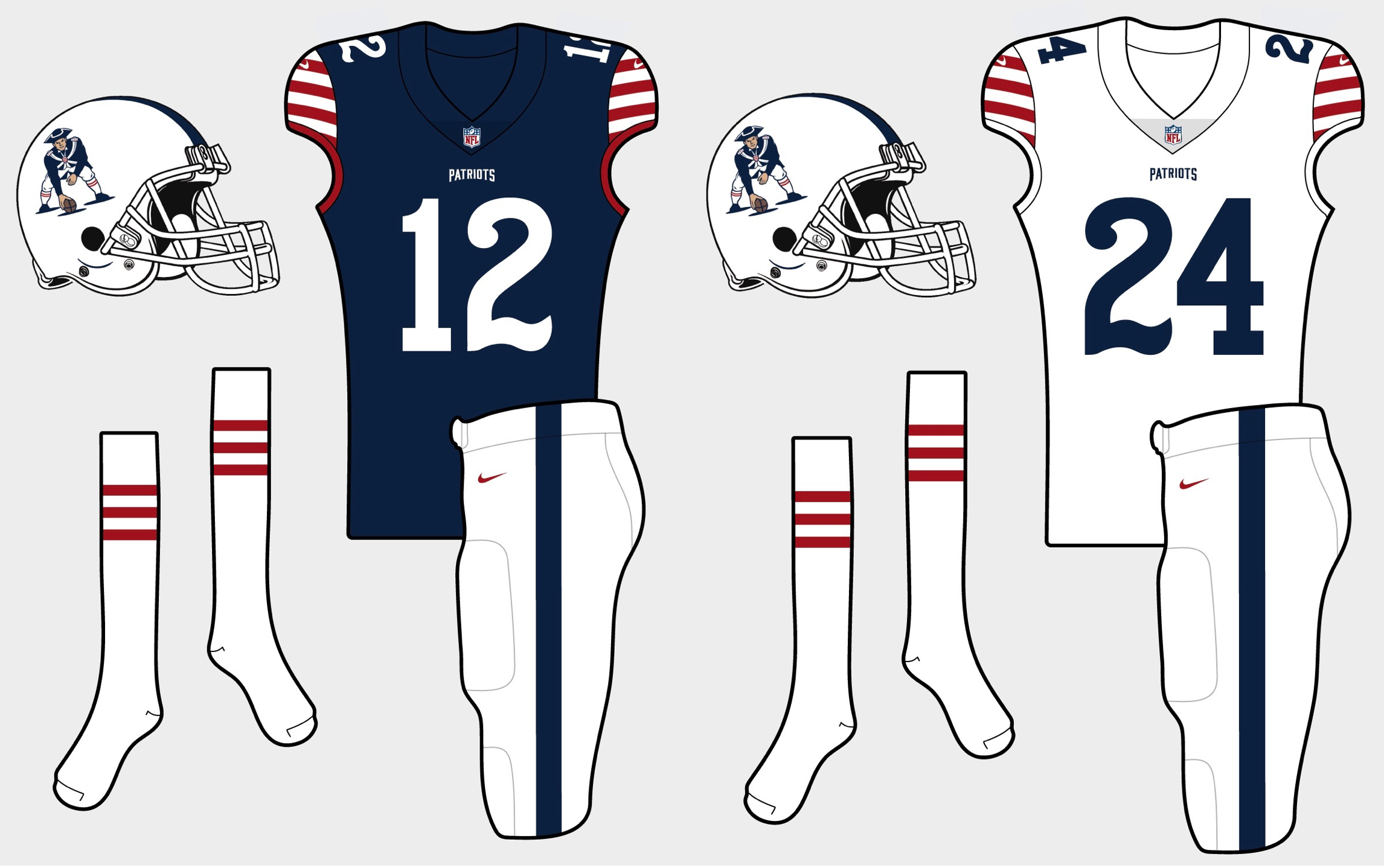 brad wolf patriots redesign uni watch