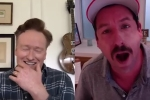Conan O'Brien and Adam Sandler