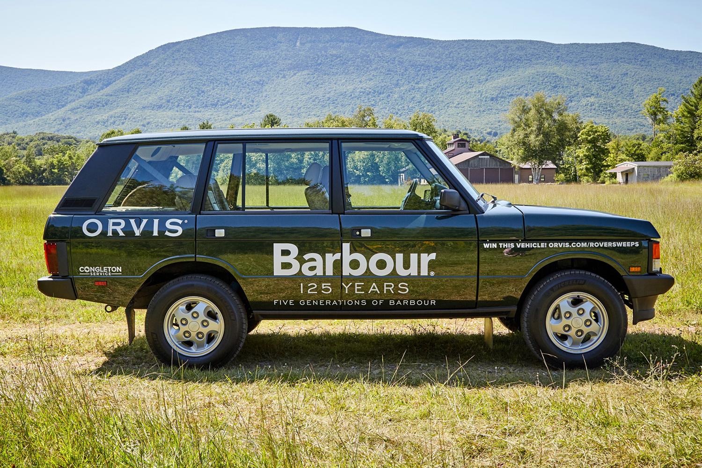 Custom Range Rover SUV