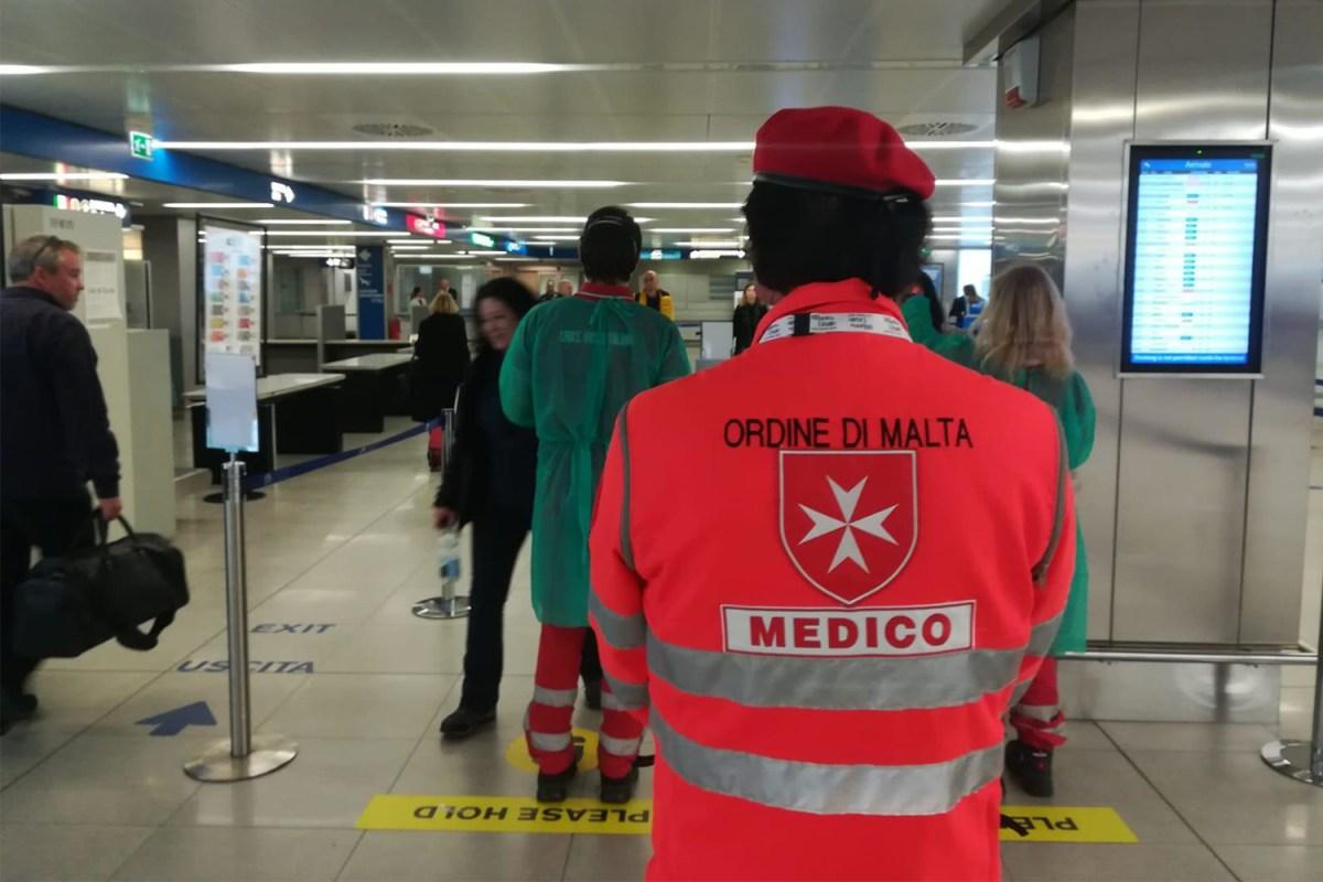 Medical personnel and coronavirus