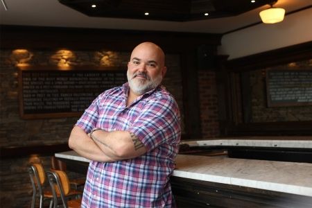 David Massoni, owner of The Fox & Falcon in South Orange