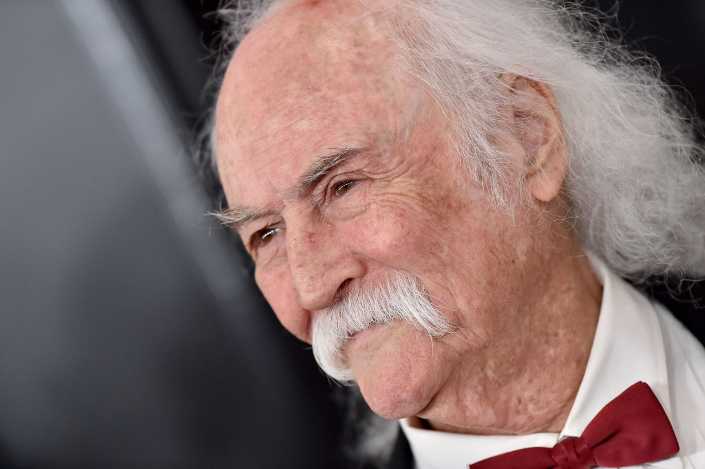 David Crosby attends the 62nd Annual GRAMMY Awards at Staples Center on January 26, 2020 in Los Angeles, California. (Photo by Axelle/Bauer-Griffin/FilmMagic)