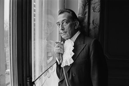 Spanish surrealist painter Salvador Dali in 1964. (Photo by Terry Fincher/Daily Express/Hulton Archive/Getty Images)