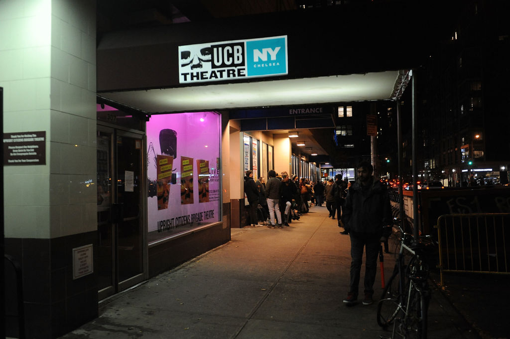 A general view of the final Upright Citizens Brigade show in their Chelsea space Upright Citizens Brigade Theatre on November 28, 2017 in New York City.  (Photo by Brad Barket/Getty Images)