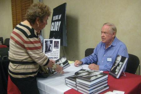Herb Goldsmith at a book event