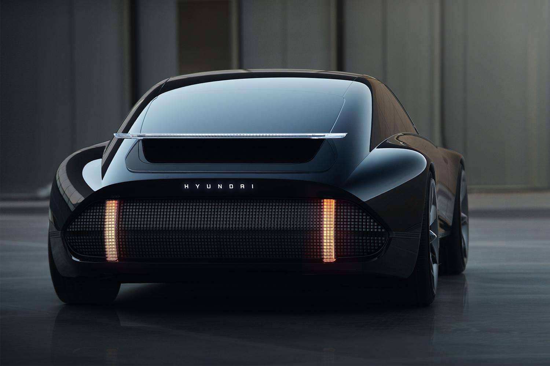 Black electric vehicle