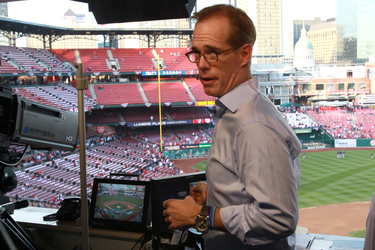 Sportscaster Joe Buck doing calls of everyday life
