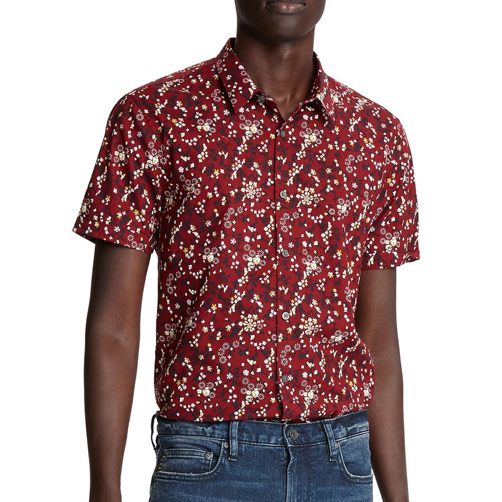 Jasper Regular-Fit Short-Sleeve Sport Shirt John Varvatos USA