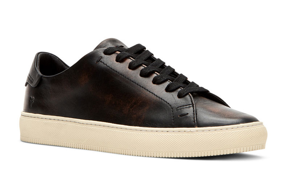 Astor Low-Top Leather Sneaker Frye
