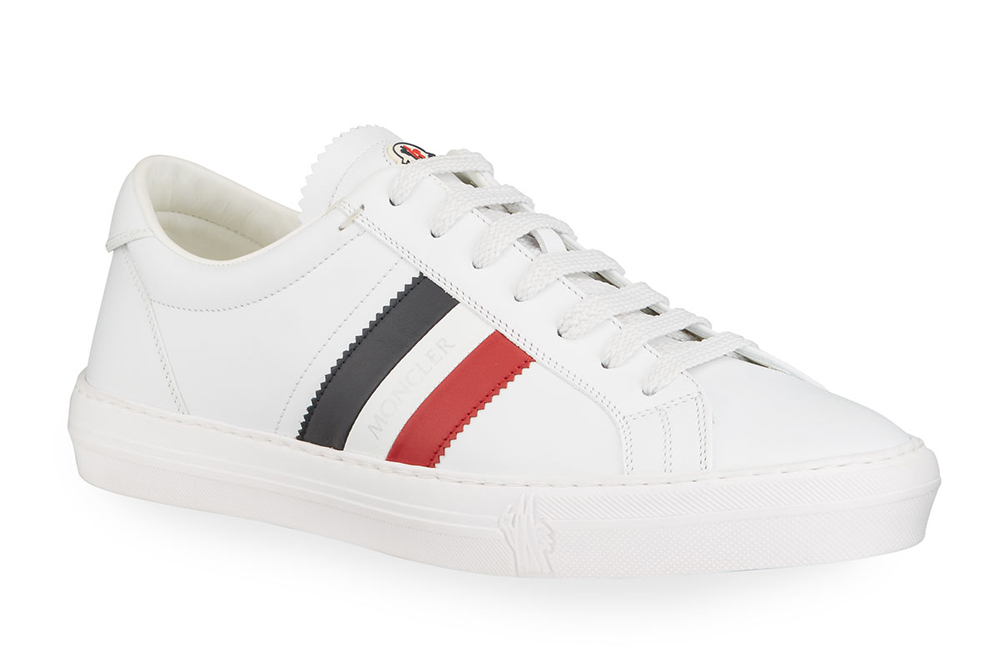 Monaco Caged Logo Sneakers Moncler