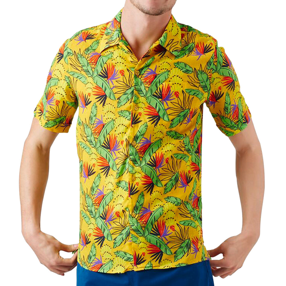 Charli Go Bananas Beach Shirt Vilebrequin
