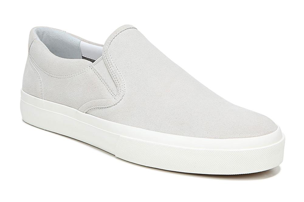 Floyd Slip-On Leather Sneakers Vince