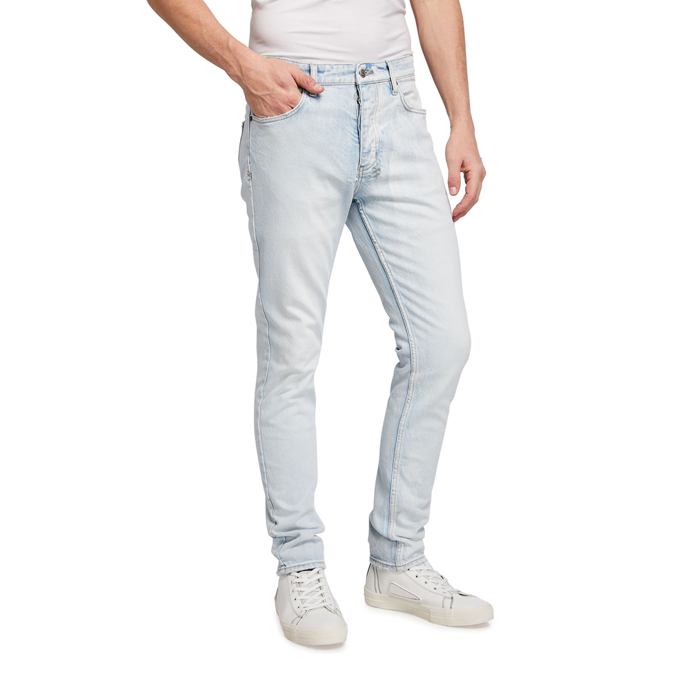 Chitch Stoked Vintage-Wash Tapered Jeans Ksubi