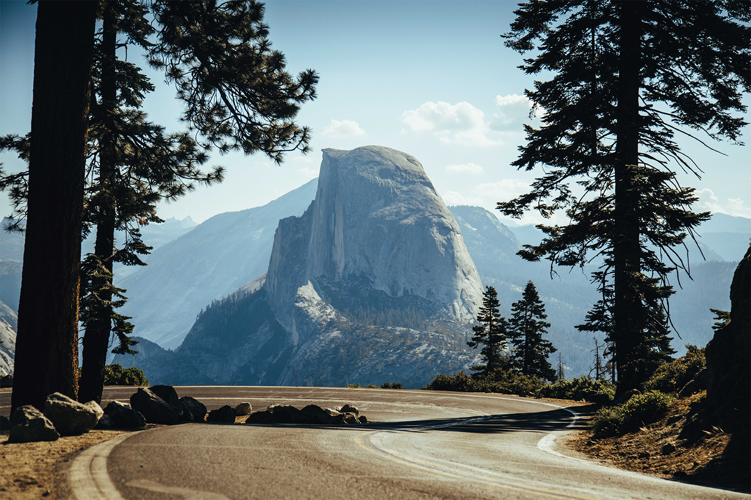 Half Dome in Yosemite National Park