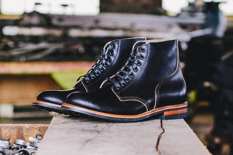 Oak Street Bootmakers black Field Boots