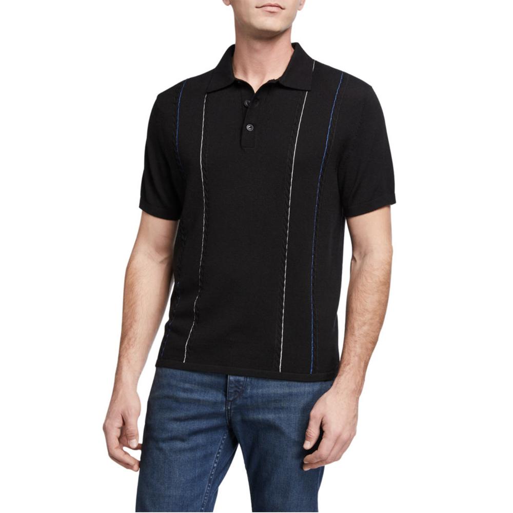 Jamison Striped Polo Shirt Rag & Bone