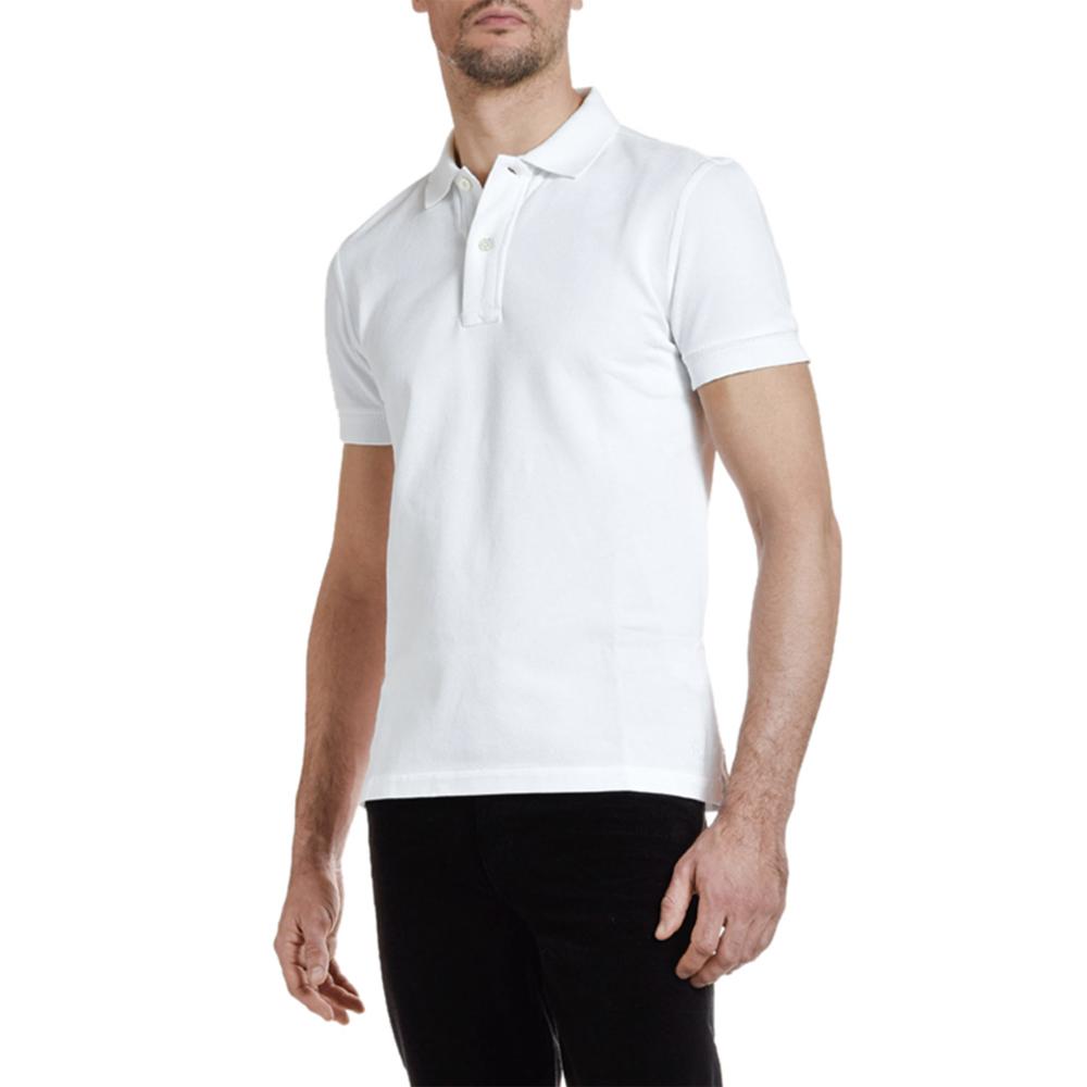 Pique-Knit Polo Shirt Tom Ford