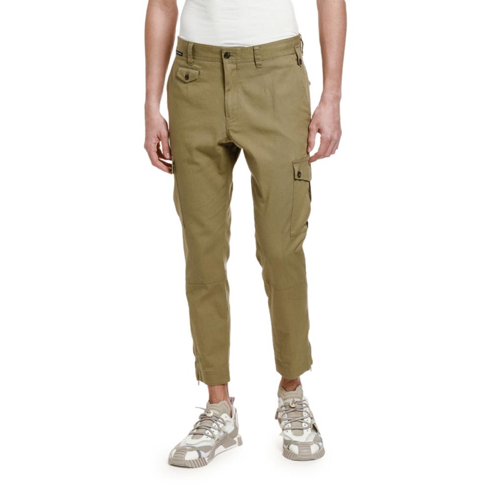 Crop Cargo Pants Dolce & Gabbana