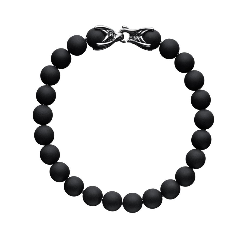 Black Onyx Spiritual Bead Bracelet David Yurman
