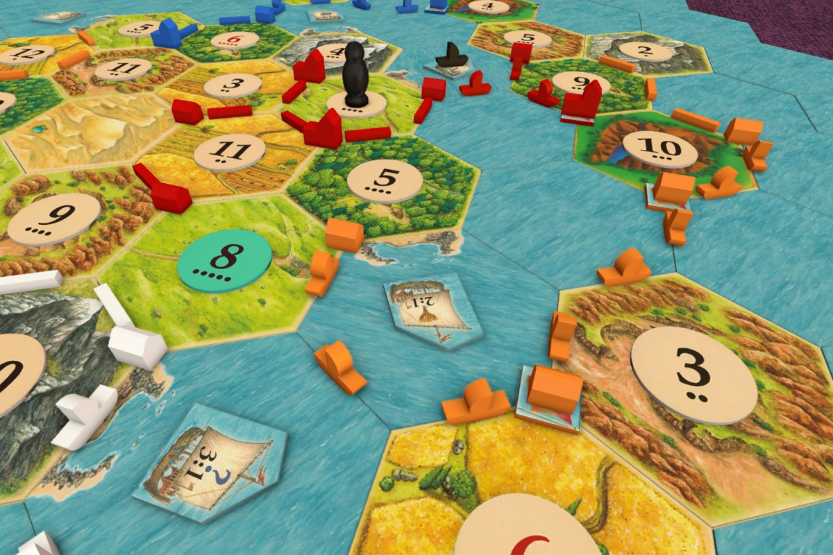The Settlers of Catan on Tabletop Simulator