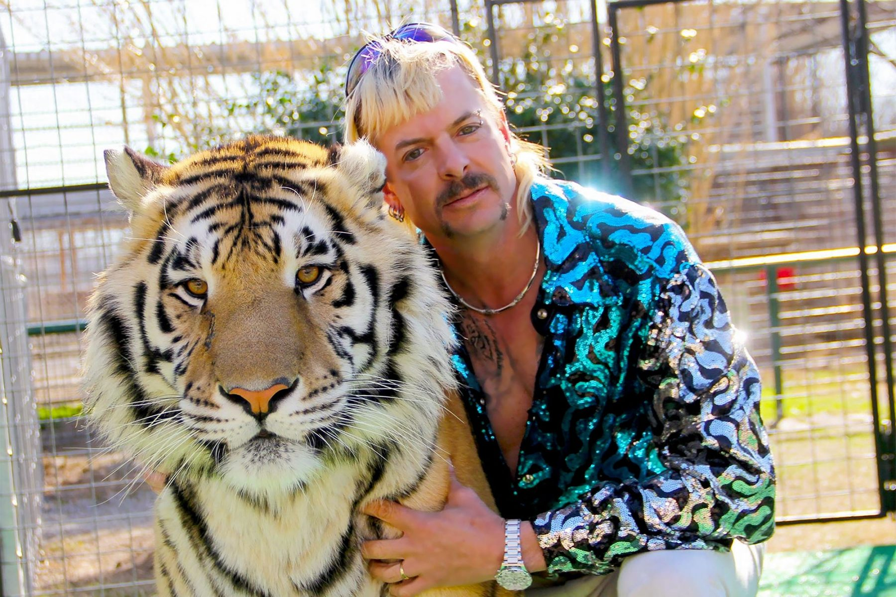 "Joe Exotic of ""Tiger King"""