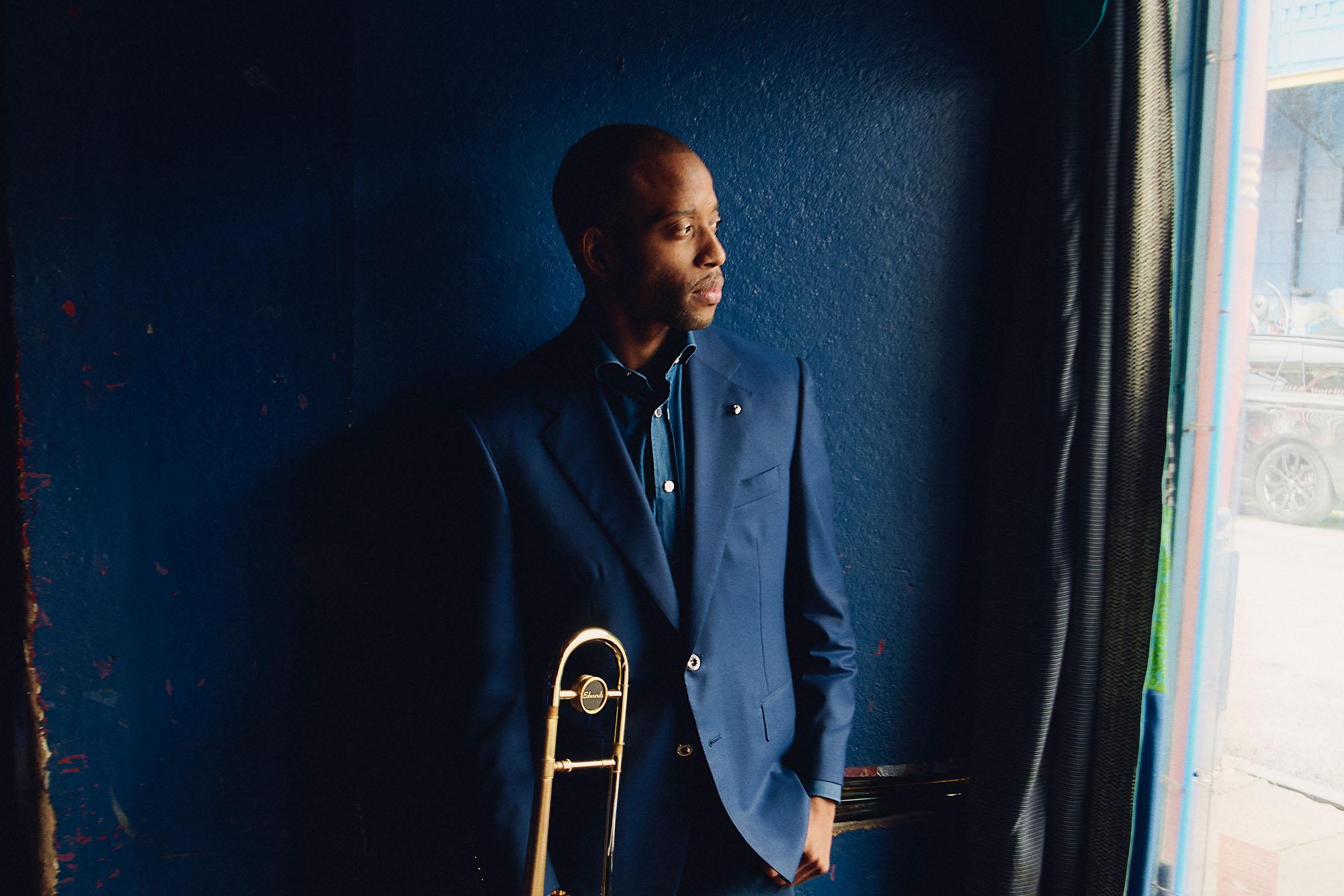Trombone Shorty New Orleans Neiman Marcus Menswear Blue Nile Stefano Ricci
