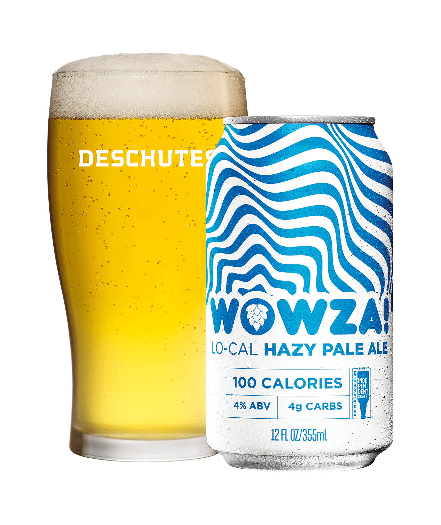 Deschutes WOWZA! Lo-Cal Hazy Pale Ale