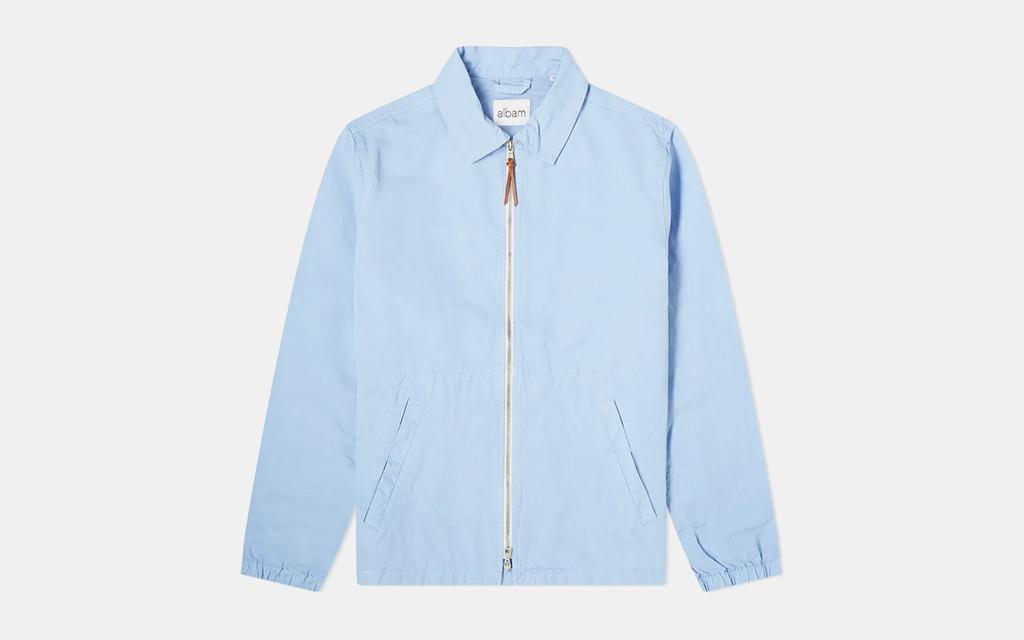 Albam Linen Harrington Jacket