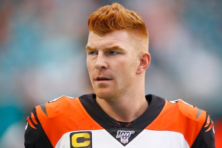 Quarterback Andy Dalton of the Cincinnati Bengals.  (Michael Reaves/Getty)