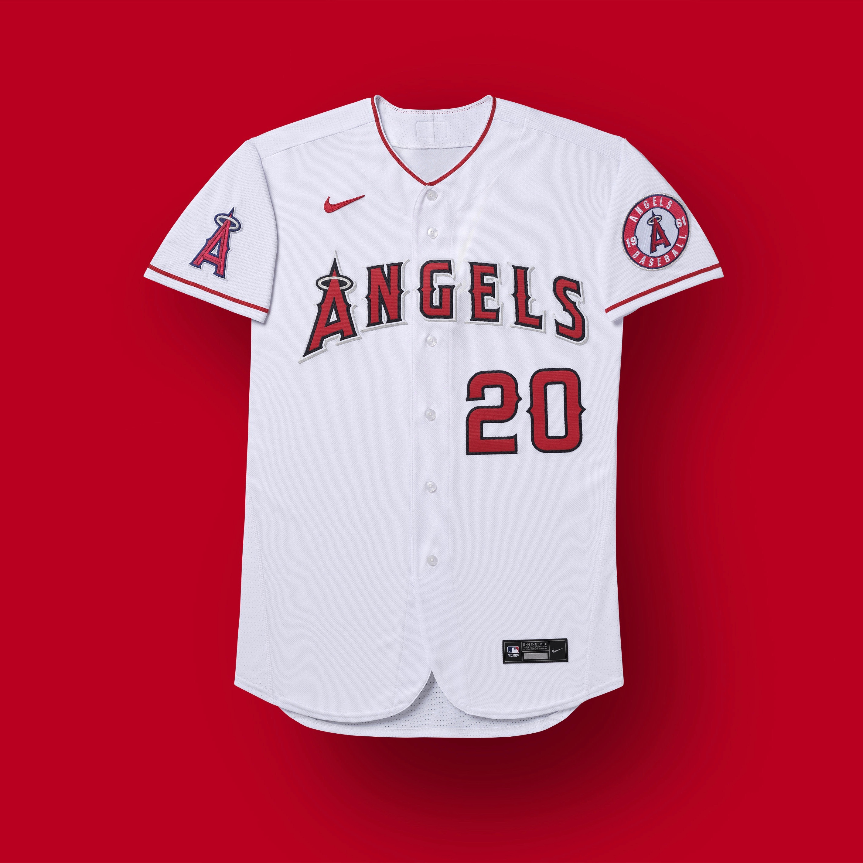 los angeles angels 2020 uniforms