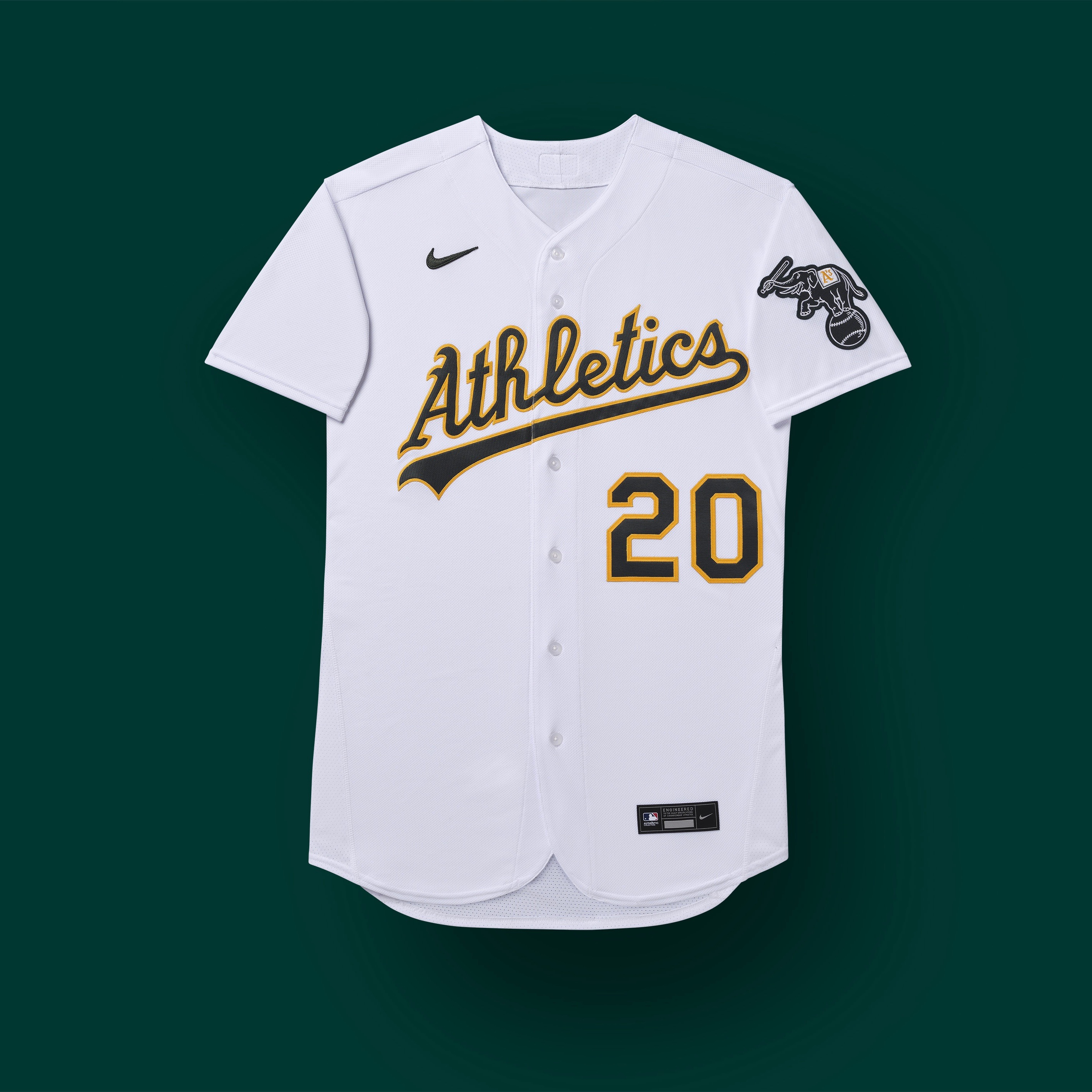 oakland a's 2020 uniforms