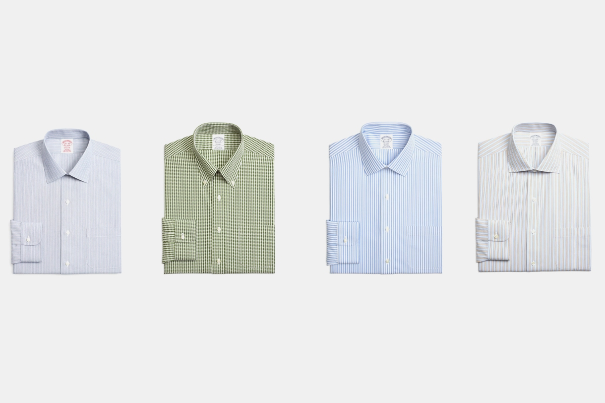 Get 4 Shirts For $184 at Brooks Brothers