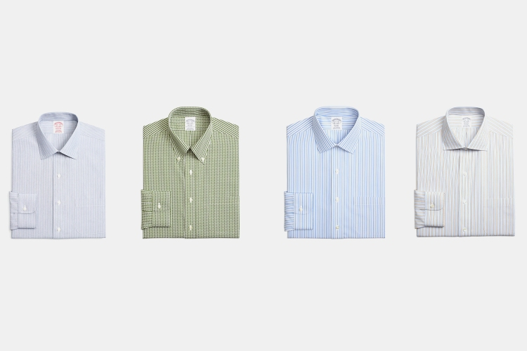 Deal: Get 4 Shirts For $184 at Brooks Brothers