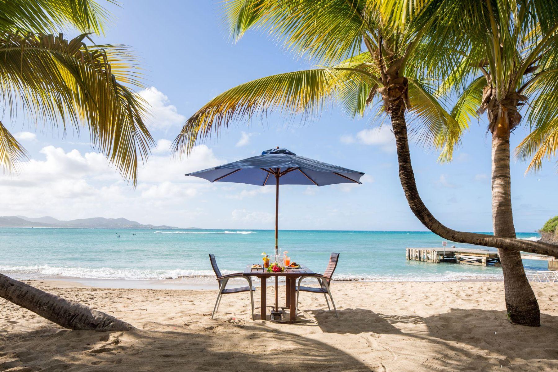 the buccaneer resort beach