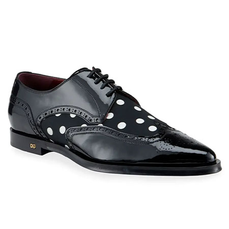 Brogue Patent Leather Shoes Dolce & Gabbana