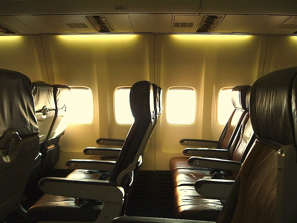Empty airline seats