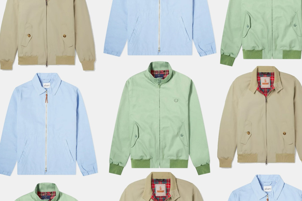 Baracuta Harrington, Albam Harrington, Fred Perry Harrington