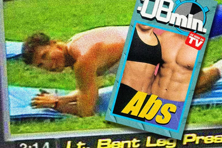 "The Cheesy, Sexed-Up ""8-Minute Abs"" Video Still Holds Up, 25 Years Later"