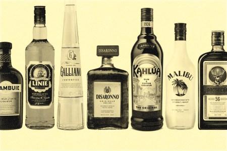 rarely used liquors