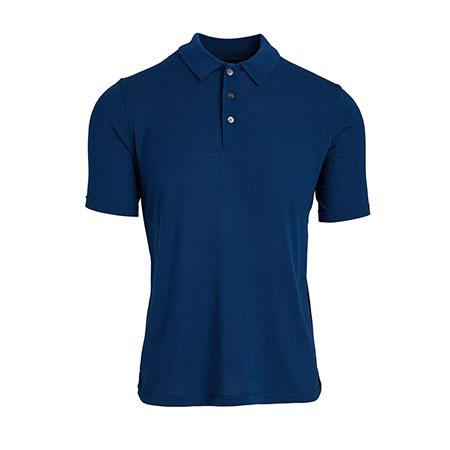 Men's Basic Regal Wool Polo Shirt Theory
