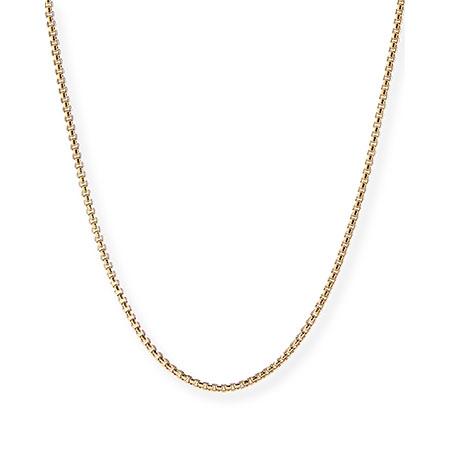 "18K Gold Chain Necklace, 22""L David Yurman"
