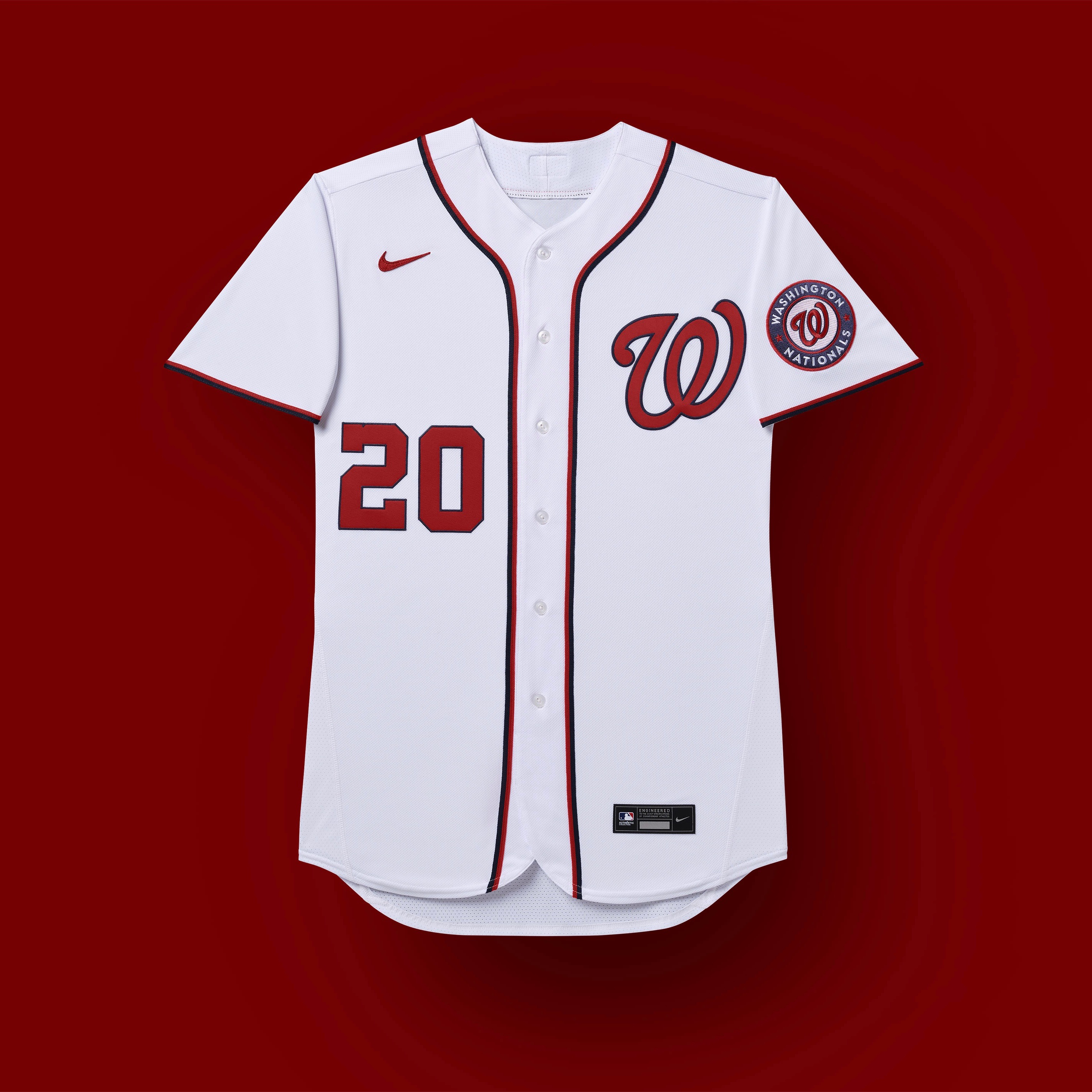 washington nationals 2020 uniforms