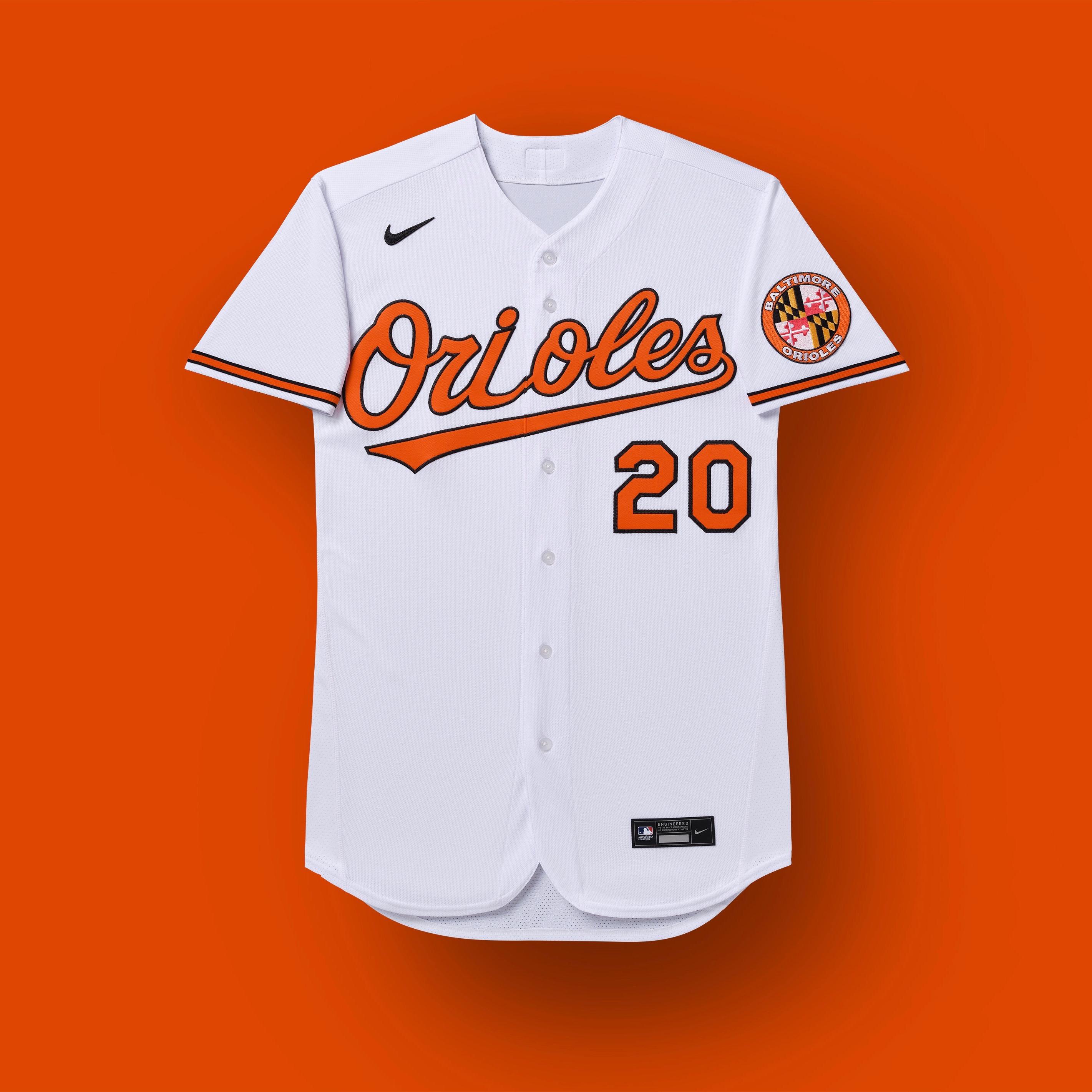 baltimore orioles 2020 uniforms