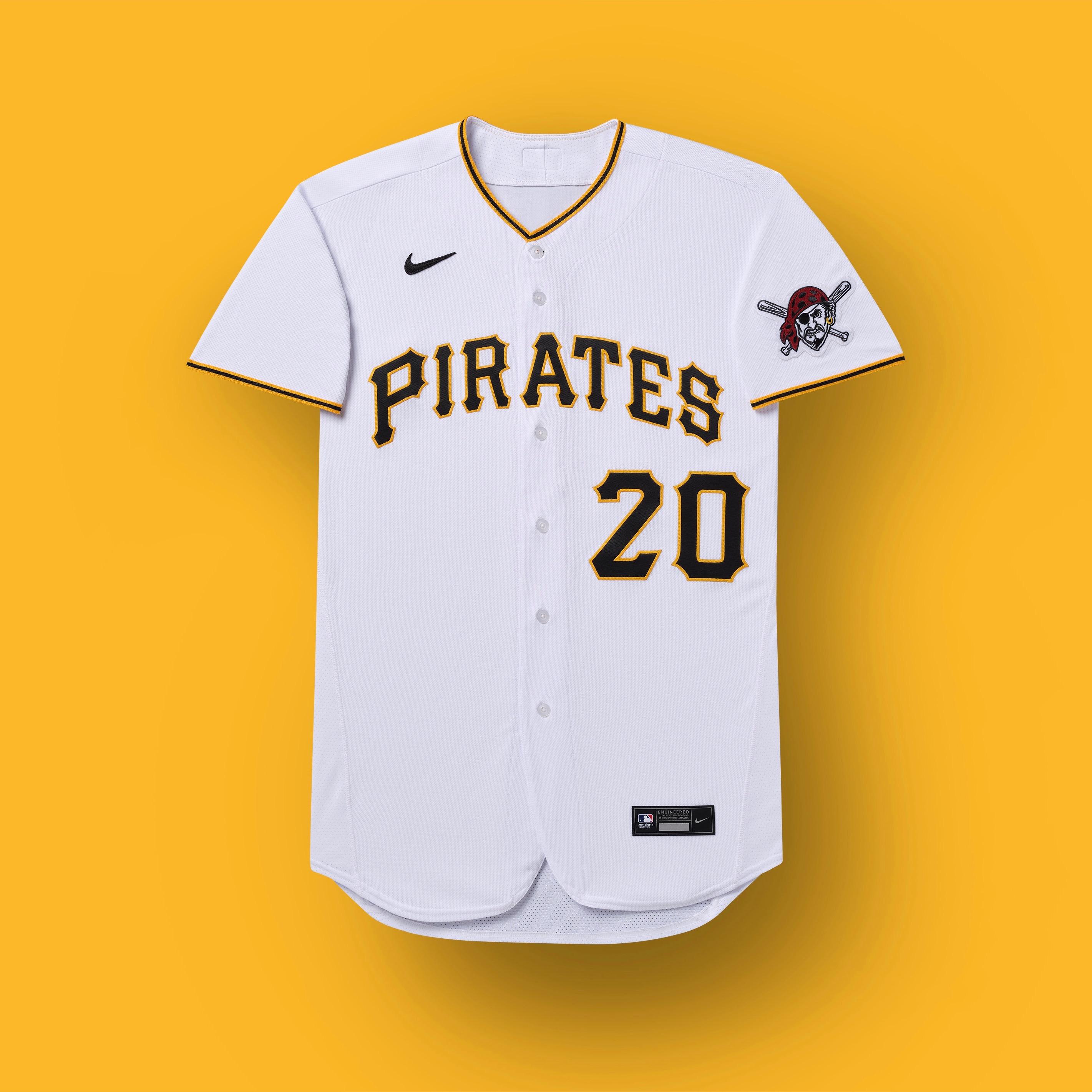 pittsburgh pirates 2020 uniform