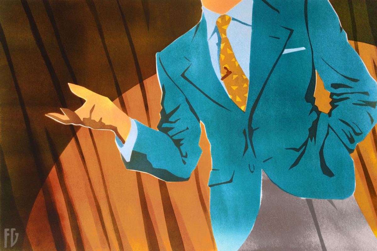 A good suit should drape over your body — not squeeze it.